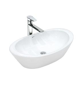 Chậu rửa tay đặt bàn lavabo Inax L-465V - Bồn rửa mặt bàn đá giá rẻ