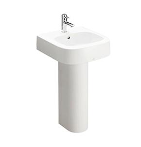 Chậu rửa tay chân dài lavabo Toto LPT767C kích thước 510x515 mm