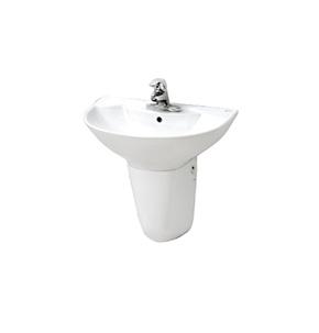 Chậu rửa treo tường Inax L-288V & L-288VC - Nơi bán chậu rửa mặt giá rẻ