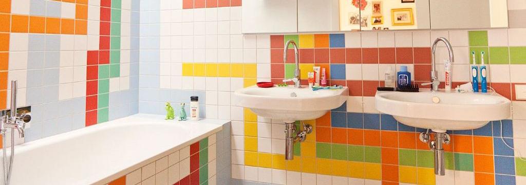 10 ý tưởng nhà tắm đáng yêu cho bé