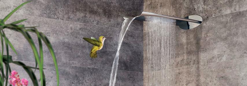 8 hệ thống phun nước độc đáo cho phòng tắm