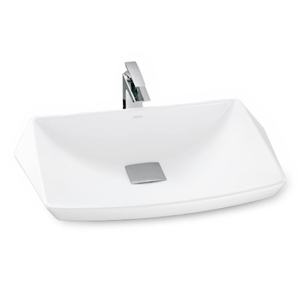Chậu rửa mặt lavabo đặt bàn Toto LT682