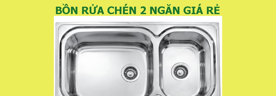 5 câu hỏi thường gặp về bồn rửa chén 2 ngăn giá rẻ tại HITA