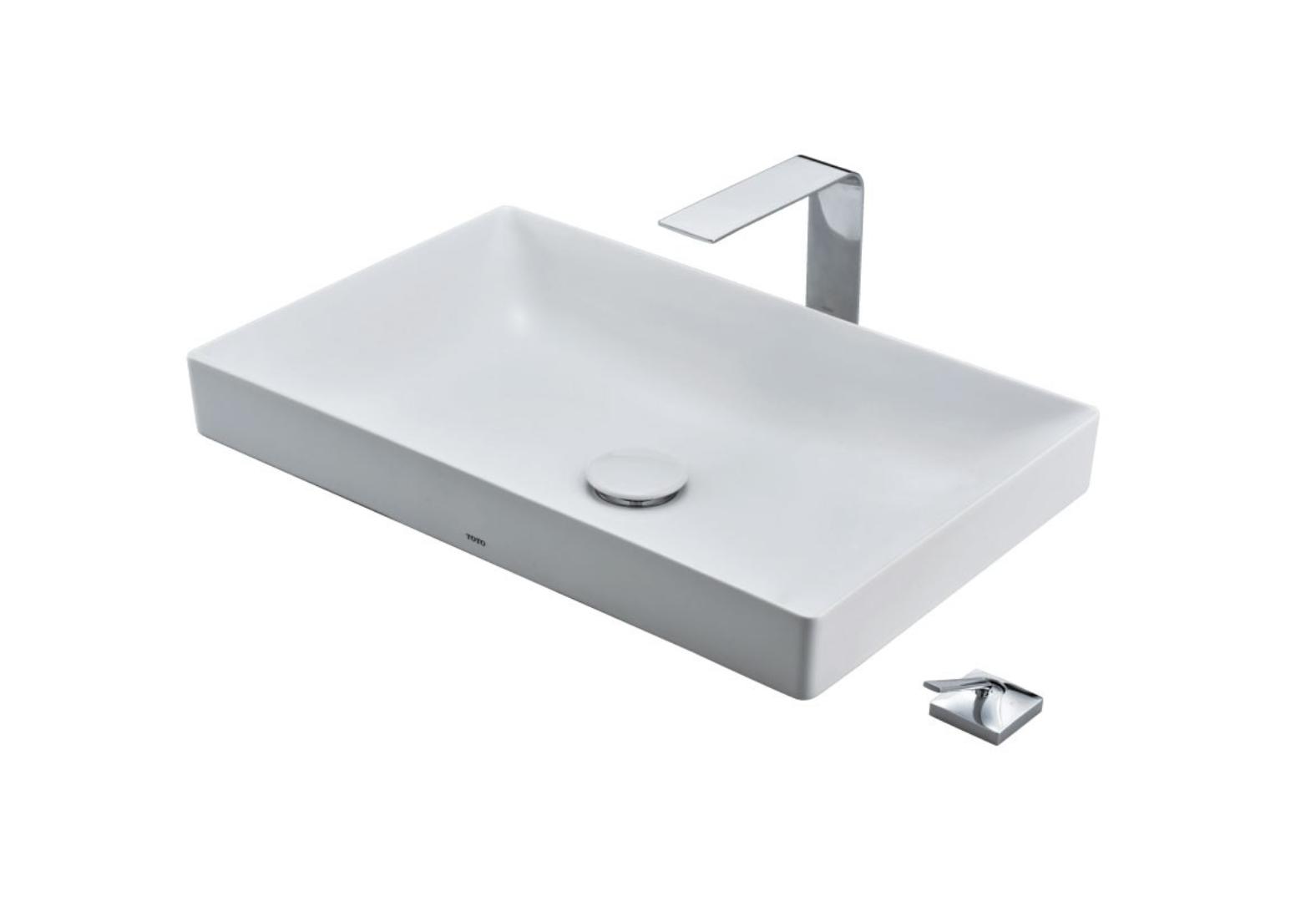 Chậu rửa lavabo đặt bàn TOTO LT4715