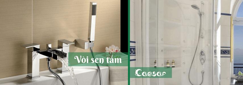 Vòi sen Caesar có tốt không so với các thương hiệu khác trên thị trường thiết bị vệ sinh hiện nay?