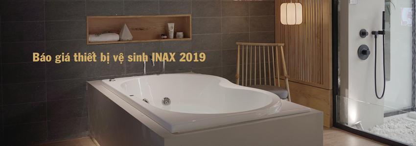 Bảng giá thiết bị vệ sinh INAX 2019