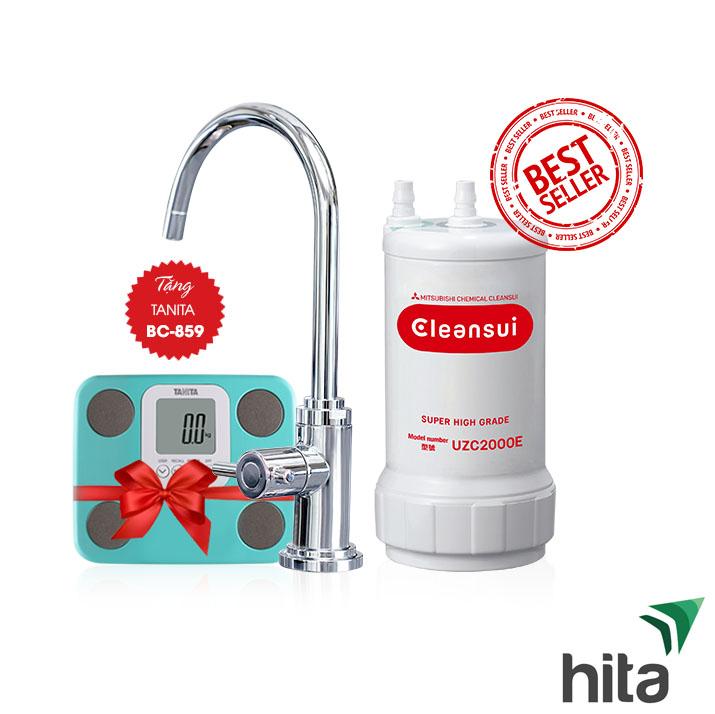 Thiết bị lọc nước dưới bồn rửa Cleansui A101E