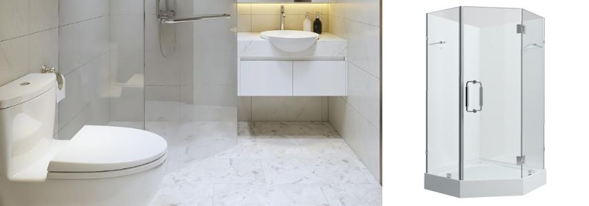 Bồn tắm 1 mét - giải pháp cho không gian phòng tắm nhỏ