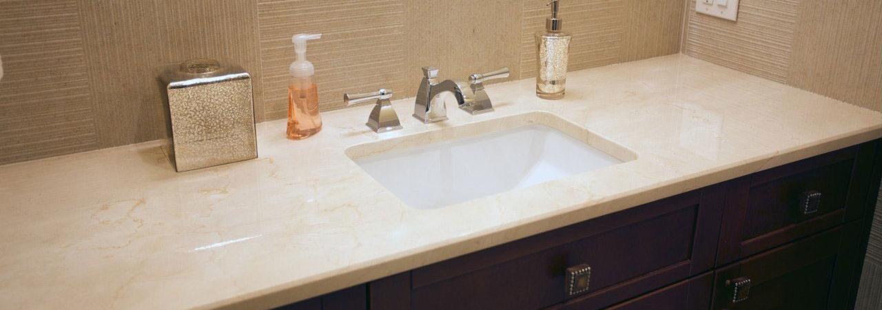 Cấu tạo bàn đá lavabo đẹp mắt cho nhà vệ sinh hiện đại