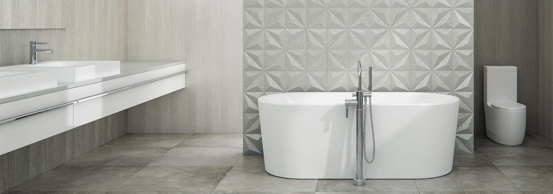 Những mẫu bồn tắm 1m6 đặt sàn cao cấp của TOTO