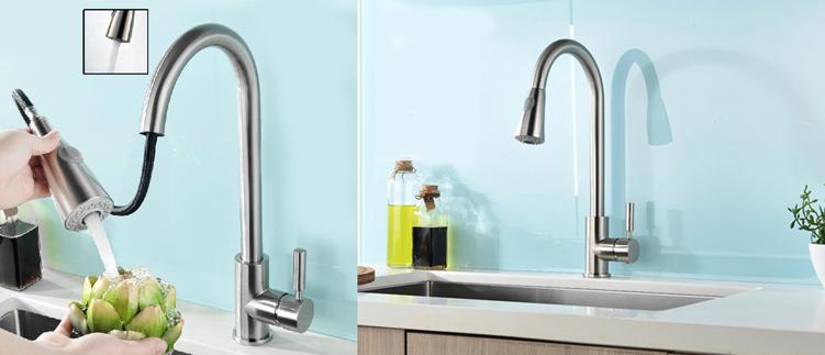 Những mẫu vòi rửa bát Inax dây rút chính hãng chất lượng cao giá bao nhiêu?