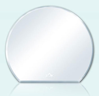 Gương phòng tắm tròn Tân An Vinh 48x53cm
