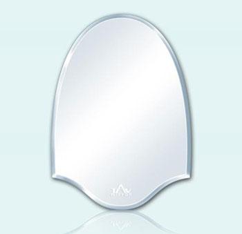 Gương phòng tắm hình vòm lượn sóng Tân An Vinh 45x60cm