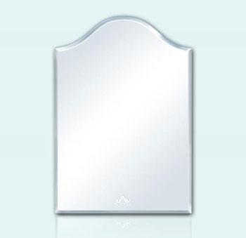 Gương phòng tắm hình vòm lượn sóng Tân An Vinh 35x45cm TAV 124M