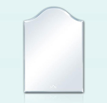 Gương phòng tắm hình vòm lượn sóng Tân An Vinh 35x45cm