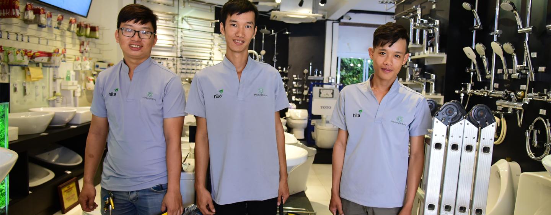 Dịch vụ và phí lắp đặt thiết bị vệ sinh giá rẻ - nhanh chóng tại Tphcm