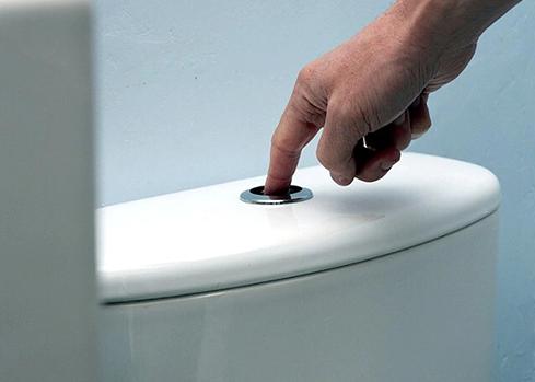 Bồn cầu nhấn không có nước – Nguyên nhân và cách khắc phục