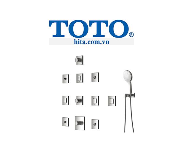Đầu sen phun âm tường Toto DBX116-1C