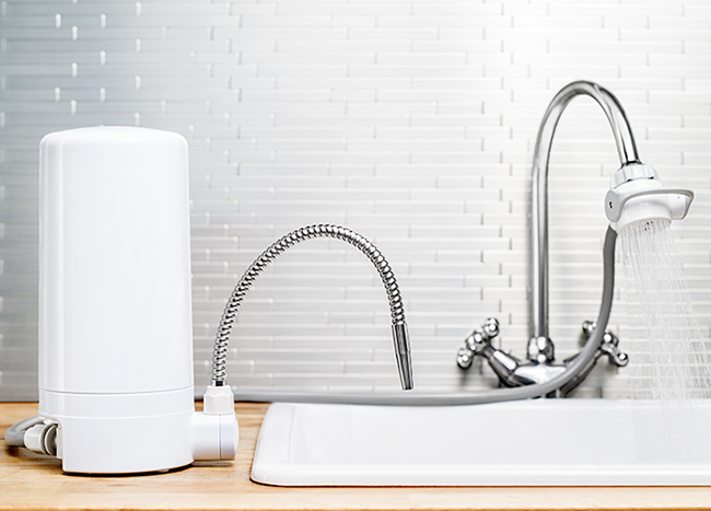 Cửa hàng bán thiết bị máy lọc nước trên bồn rửa Mitsubishi Cleansui ET101 uống tại vòi