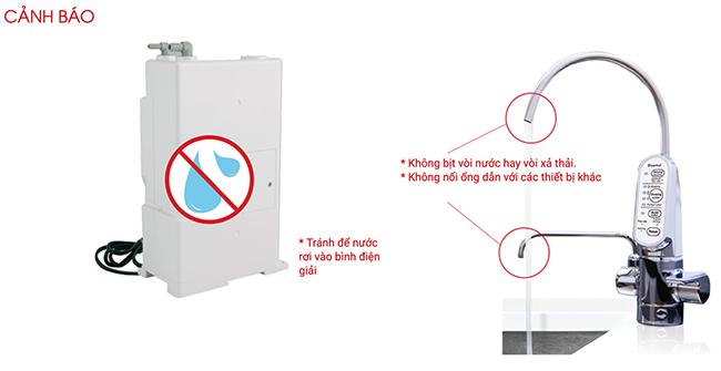 Một số lưu ý khi lắp đặt và sử dụng máy lọc nước Cleansui EU301