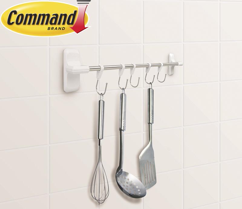 Thanh treo dụng cụ nhà bếp bằng nhựa Command 3M DAAN46-A9007KUT0