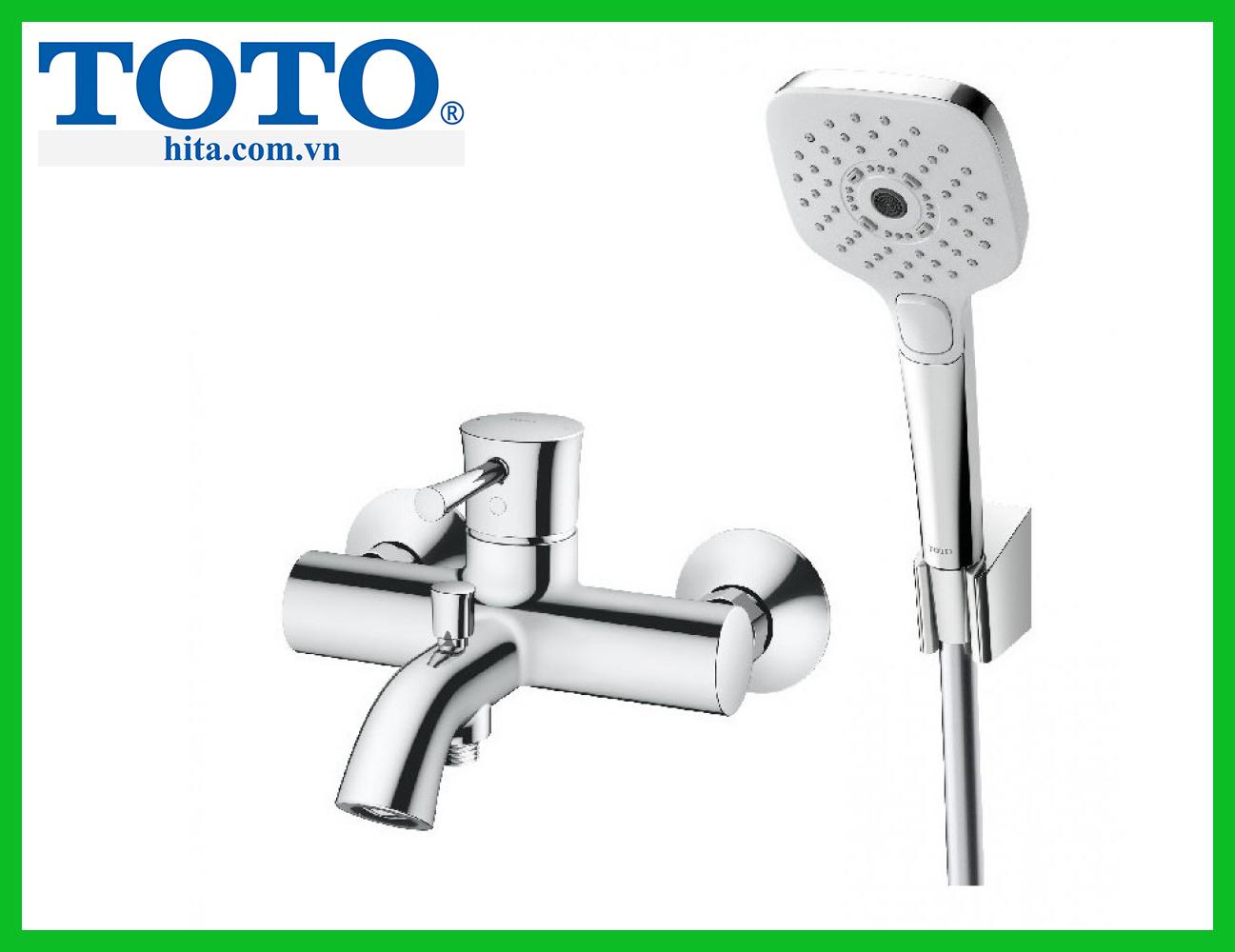 Bộ sen tắm nóng lạnh TOTOTBS02302V TBW02006A