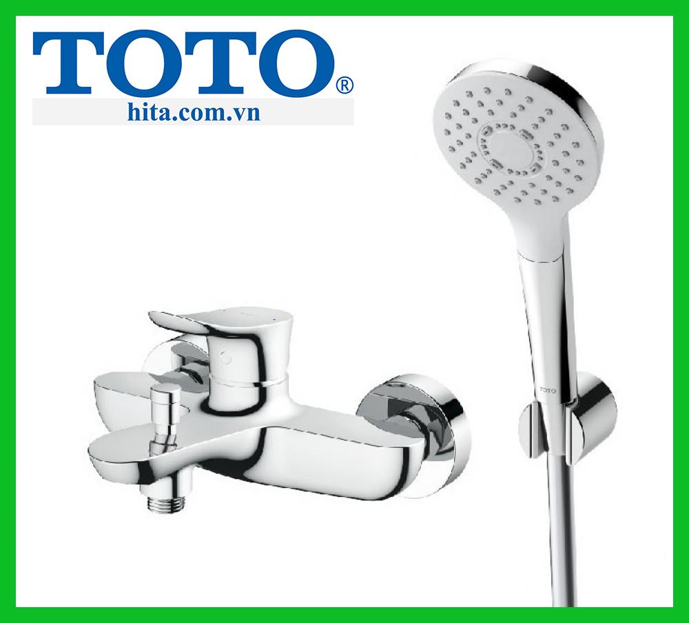 Bộ sen tắm nóng lạnh Toto TBG01302V TBW01008A