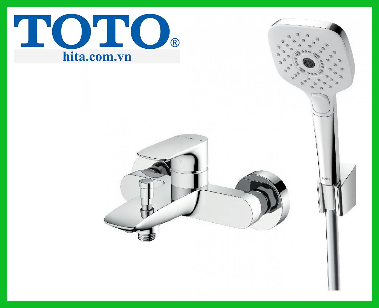 Bộ sen tắm nóng lạnh Toto TBG04302V TBW02006A