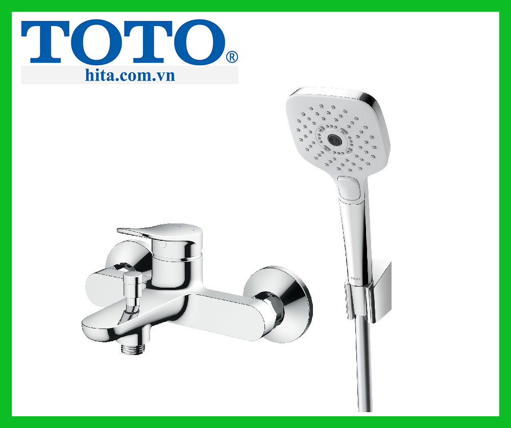Bộ sen tắm nóng lạnh Toto TBS04302V TBW02006A