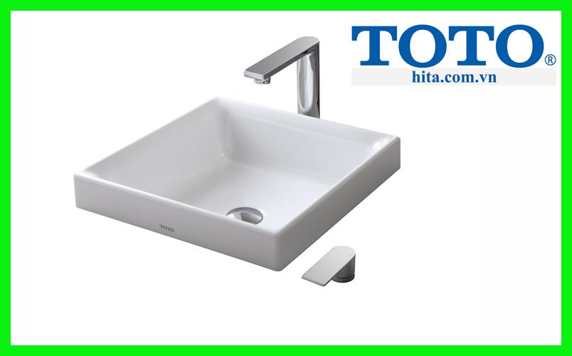 Chậu rửa đặt bàn Toto LW1714B
