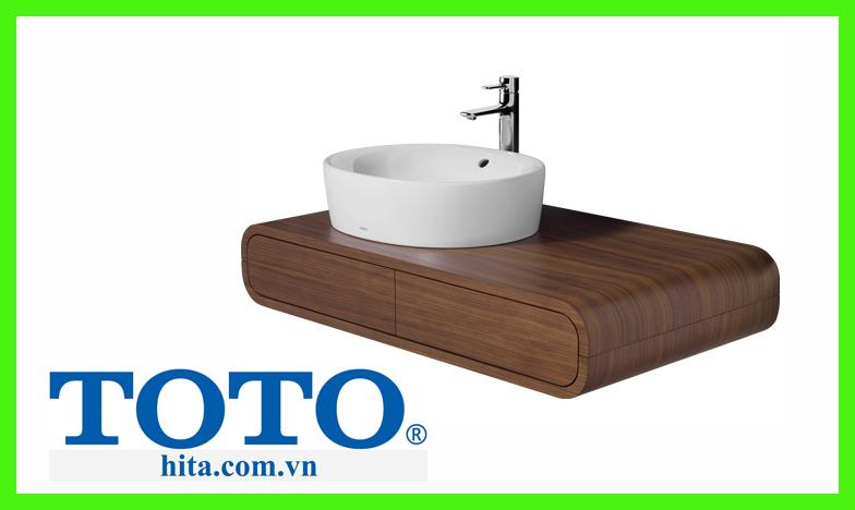 Chậu rửa đặt bàn Toto LW760LB