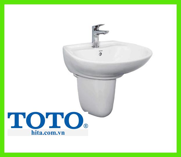Chậu rửa lavabo chân lửng Toto LHT300CR