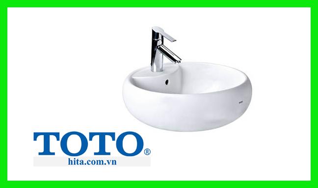 Chậu rửa tay đặt bàn lavabo Toto LT367CR (LT367CT)