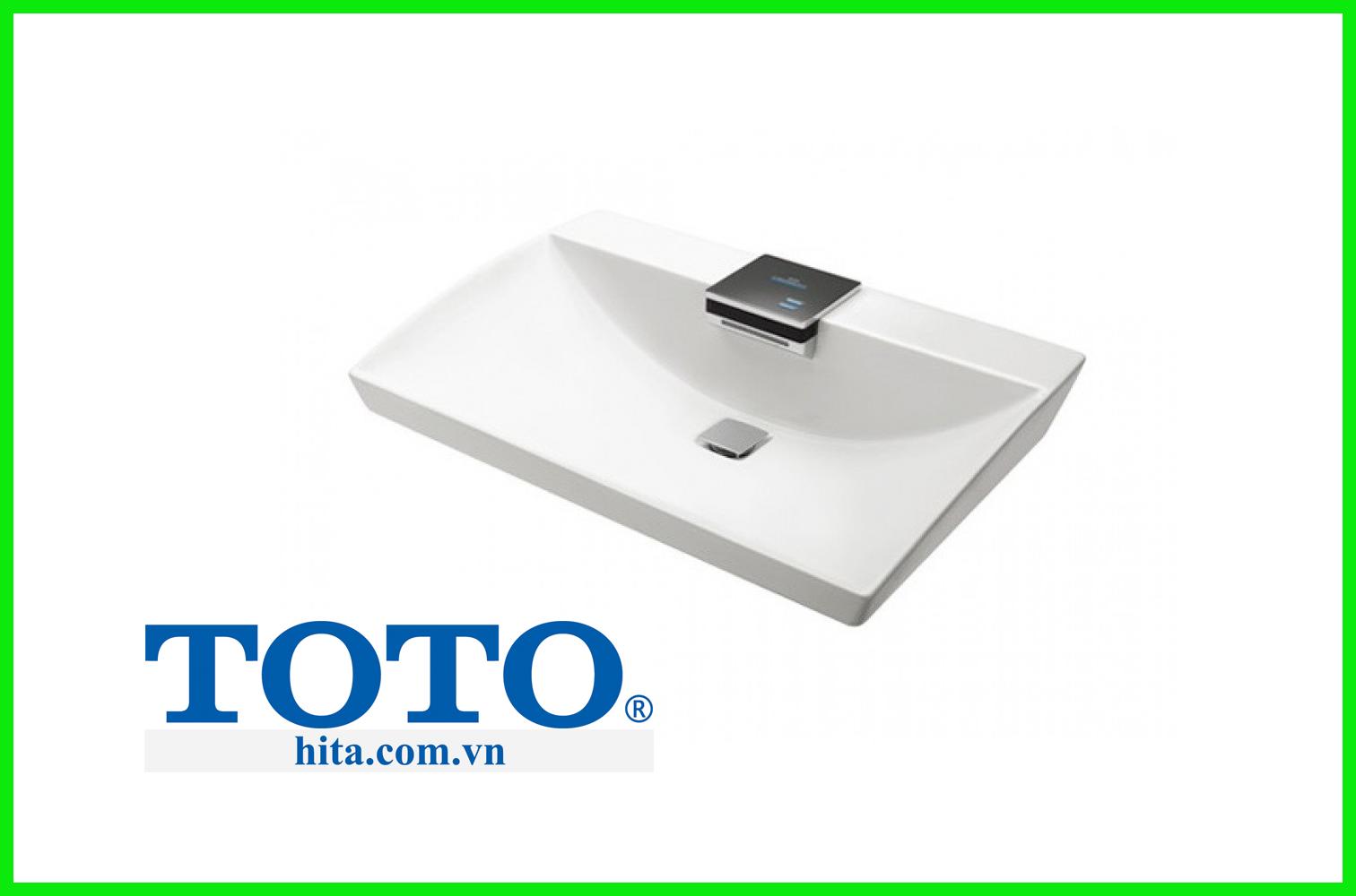 Chậu rửa mặt lavabo đặt bàn Toto LW991A