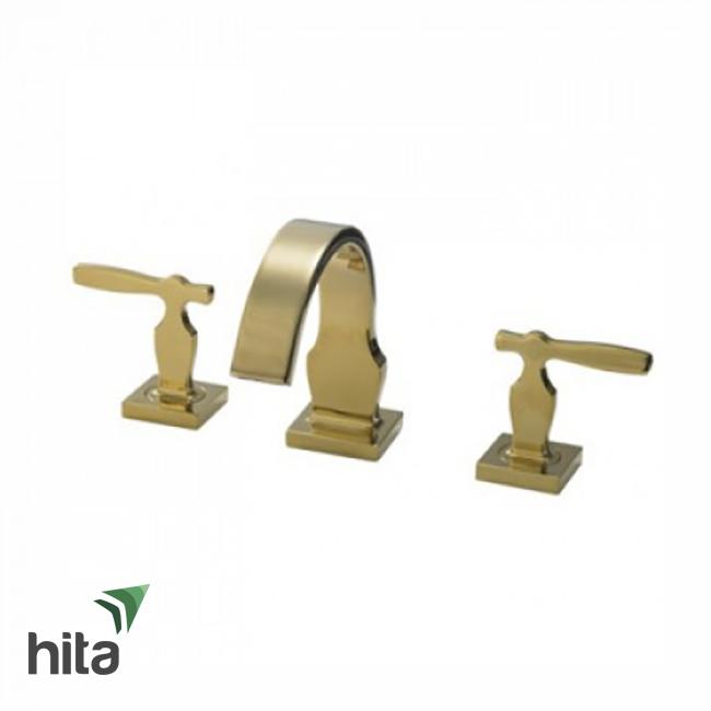 vòi chậu lavabo TOTO DL218#PG nóng lạnh mạ vàng