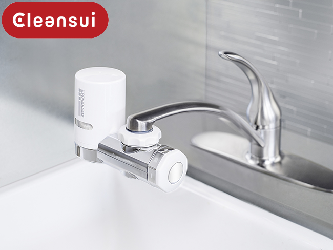 thiết bị máy lọc nước uống lắp tại vòi uống trực tiếp Mitsubishi Cleansui EF201 (mã cũ MD101E-S)