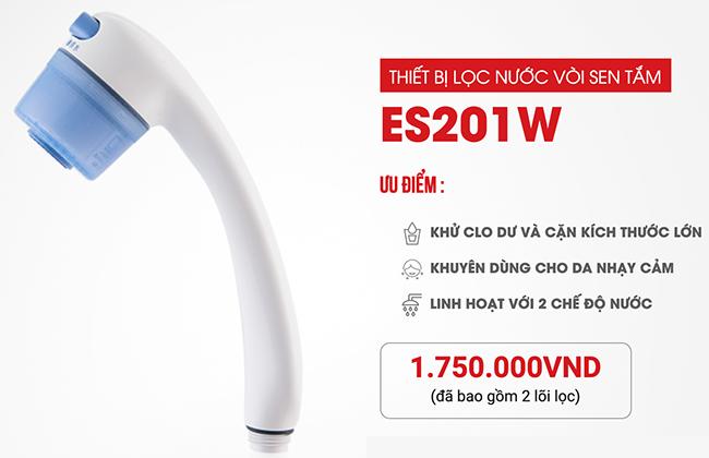 máy đầu vòi hoa sen tắm Mitsubishi Cleansui ES201W (mã cũ SK106W) tại Tphcm