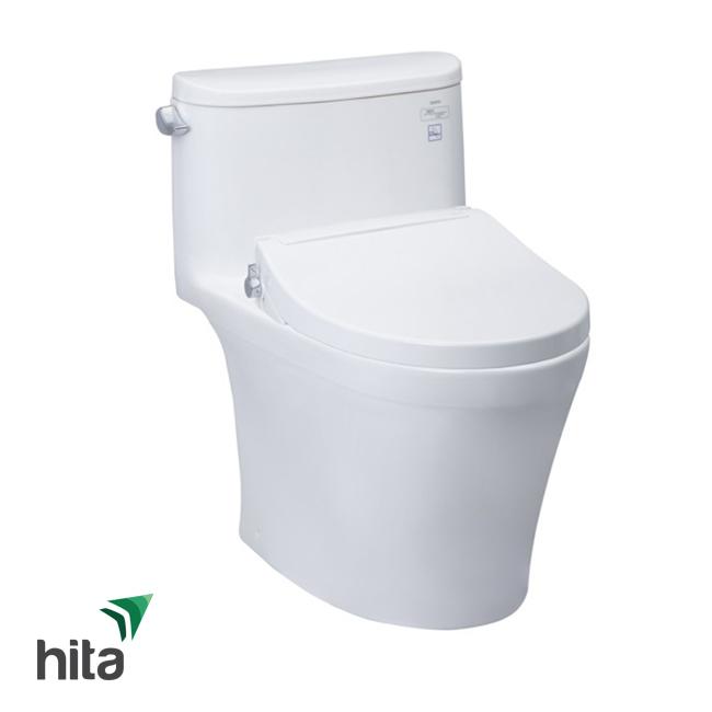 Bồn cầu nắp rửa cơ TOTO MS887E2 là mẫu bàn cầu nắp rửa eco-washer