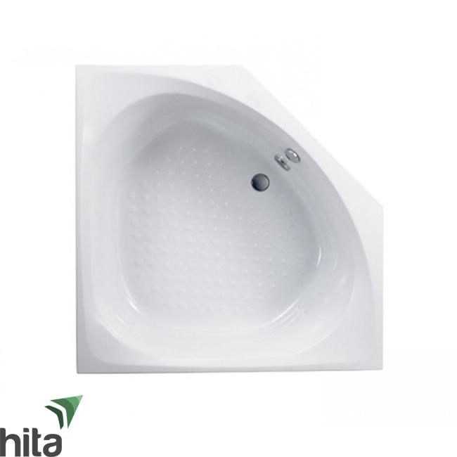 Bồn tắm nhựa góc TOTO PAY1300PE/DB505R-2B xả nhấn chống trượt
