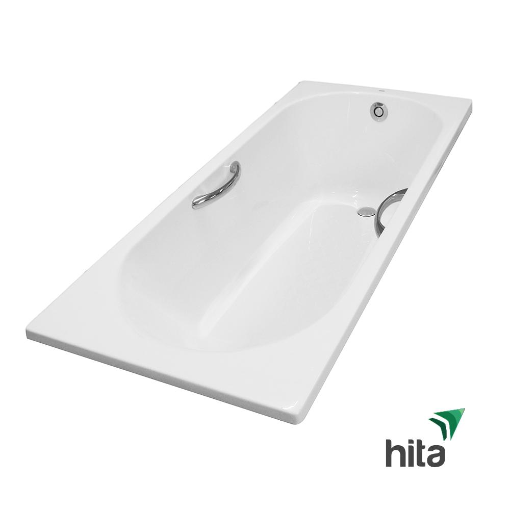 bồn tắm nhựa TOTO PAY1710HV/TVBF411 có tay vịn, không yếm