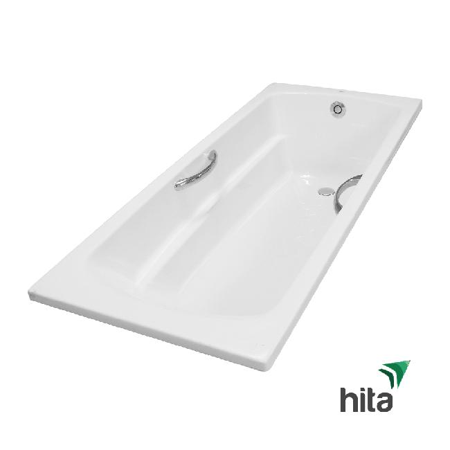 bồn tắm nhựa TOTO PAY1730HV/TVBF411 có tay vịn không yếm