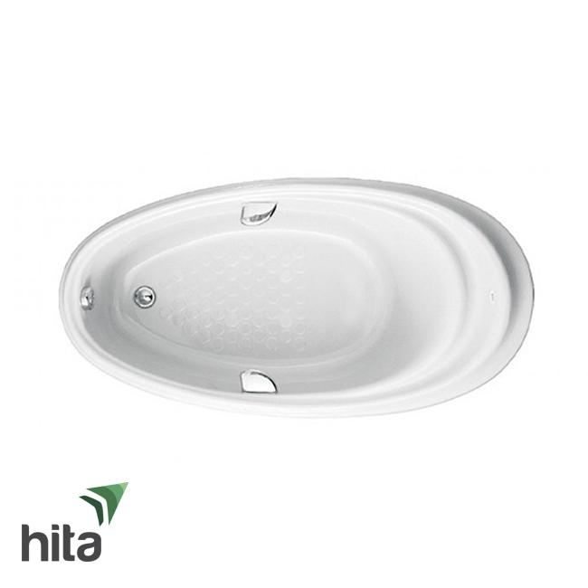 Bồn tắm ngọc trai TOTO PPY1610HPTE#S hình Oval có tay vịn