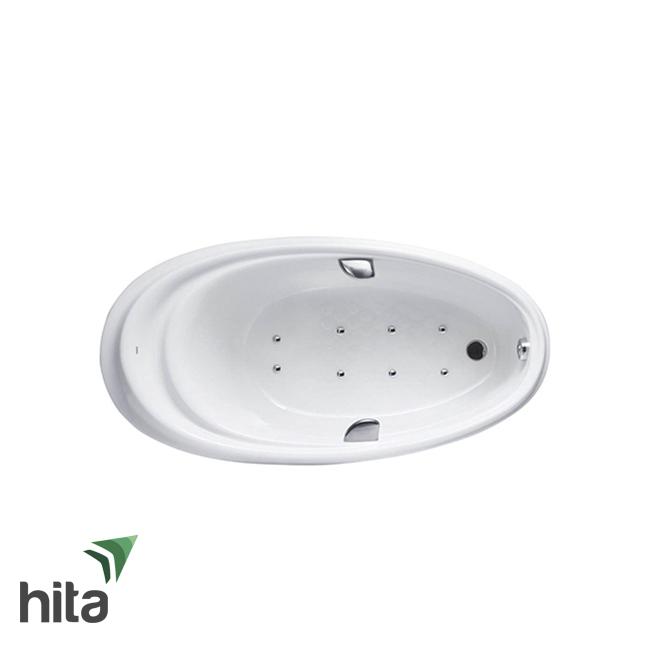 Bồn tắm ngọc trai TOTO PPYB1610LHPTE#S có chức năng sục kích thước 1m6