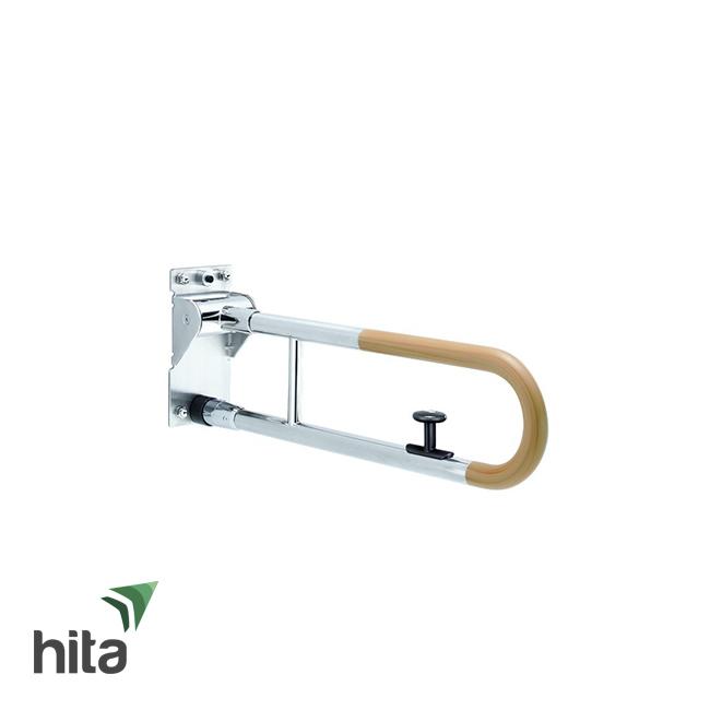 Thanh tay vịn TOTO T114HK7/T110D17S màu gỗ tự nhiên có thể bật lên