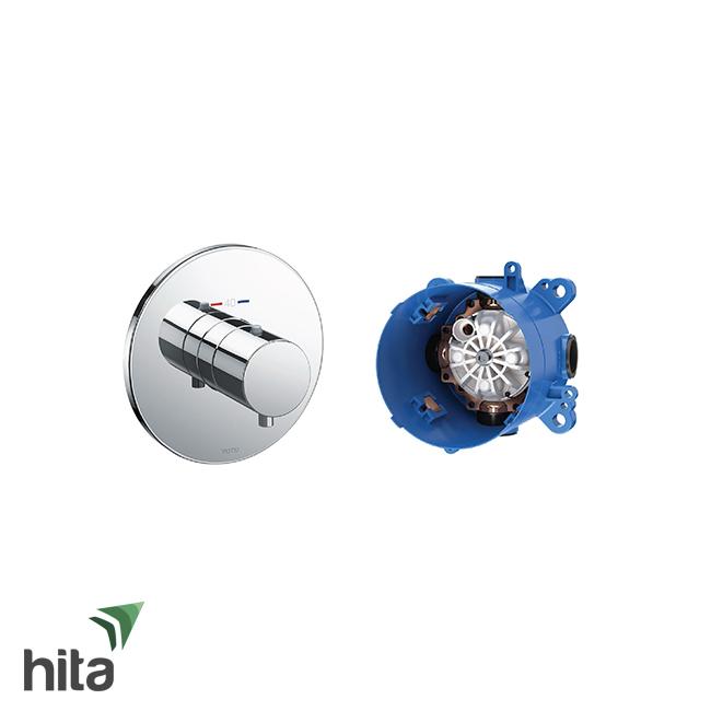 Van điều chỉnh nóng lạnh TOTO TBV01406B/TBN01001B có 3 đường nước ra