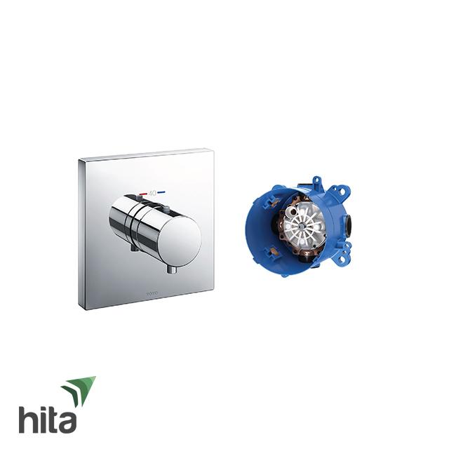 Van điều chỉnh nhiệt độ TOTO TBV02402B/TBN01001B có 3 đường nước ra kèm phụ kiện