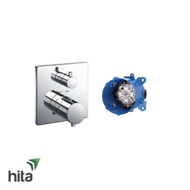 Van điều chỉnh nhiệt độ TOTO TBV02404B/TBN01001B kèm van chuyển hướng