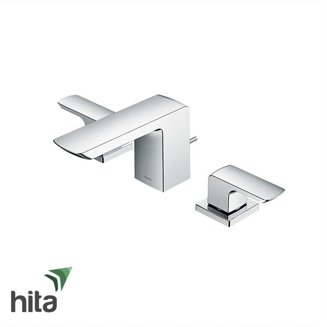 Vòi chậu lavabo TOTO TLG02201B nóng lạnh tay vặn dòng GR 3 lỗ