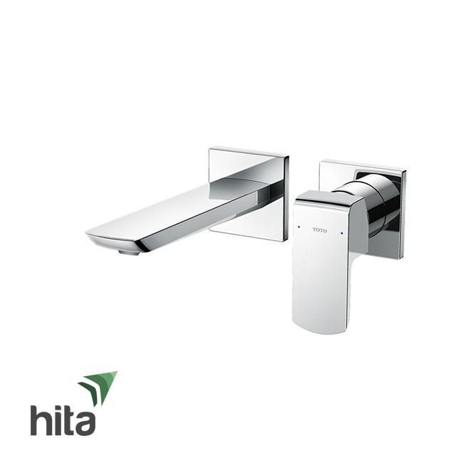 Vòi chậu lavabo TOTO TLG02310B nóng lạnh gắn tường - Vòi bồn rửa mặt gật gù