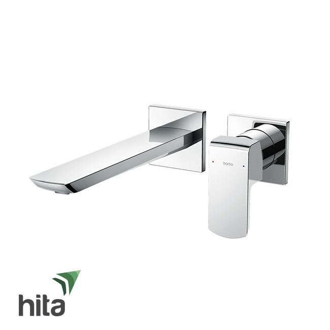 Vòi chậu lavabo TOTO TLG02311B nóng lạnh gắn tường - Vòi bồn rửa mặt gật gù